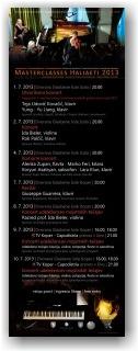 Koncerti - Masterclasses Haliaeti 2013